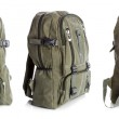 Backpack with clipping path — Stock Photo