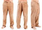 Corduroy trousers — Stock Photo