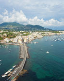 View of Ischia Ponte — Stock Photo