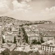 Stock Photo: Vintage best view of gulf of Naples