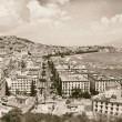 Vintage best view of the gulf of Naples — Stock Photo
