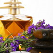 Spa accessories and lavender — Stock Photo #37017183