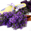 Lavender scented sachets — Stock Photo