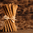 Stock Photo: Bunch of Ceylon cinnamon