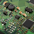 Computer micro circuit board — Stock Photo #38009867