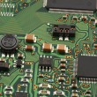 Computer micro circuit board — Stock Photo #38009899