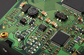 Computer micro circuit board — Stock Photo