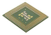 Microprocessor for computer — Stock Photo