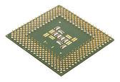 Microprocessor for computer — Stock Photo
