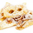 "Typical dessert Italian carnival, ""chiacchiere"" fries. — Stock Photo #38347777"