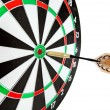 Bulls eye target with dart — Stockfoto #38391013