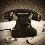 Old retro bakelite telephone — Stock Photo #38503209