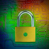 Korumak ve güvenli veri — Stok fotoğraf