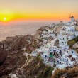 Stock Photo: Oia town , Santorini island, Greece