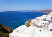 View of generic village at Santorini island — Photo