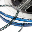 Stock Photo: Retro film reel