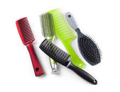 Combs and hairbrushes — Stock Photo