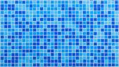 Blue mosaic tiles — Stock Photo
