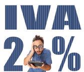 Iva italienska skatten med chockad pojke — Stockfoto
