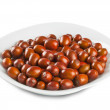 Plate of jujube — Stock Photo #40563235