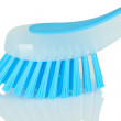 Stock Photo: Blue plastic brush