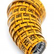 Yellow measuring tape — Stock Photo #42477407