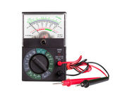 Multimeter with probe — Foto Stock