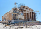 Construction work at the Parthenon, Athens — Stock Photo