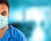 Close up doctor — Stock Photo