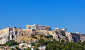 Parthenon temple on Athenian Acropolis — Stock Photo
