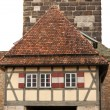 Castle tower of Rothenburg ob der Tauber — Stock Photo #44392929