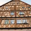 Traditional Half Timbered House in Rothenburg ob der Tauber — Stock Photo #44393157