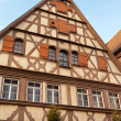 Traditional Half Timbered House in Rothenburg ob der Tauber — Stock Photo #44393355