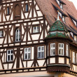 Traditional Half Timbered House in Rothenburg ob der Tauber — Stock Photo #44394287