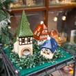 Porcelain houses, typical souvenirs Rothenburg ob der Tauber — Stock Photo #44395151