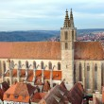 St. James's Church of Rothenburg ob der Tauber — Stock Photo #44397821