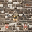 Eagles emblem on the wall in Rothenburg od der Tauber — Stock Photo #44419459