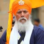 Nagarkirtan, Indian religious procession, San Giovanni Valdarno — Stock Photo #44682995