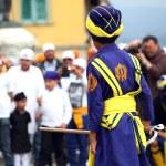 Nagarkirtan, Indian religious procession, San Giovanni Valdarno — Stock Photo #44684753