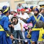 Nagarkirtan, Indian religious procession, San Giovanni Valdarno — Stock Photo #44684883