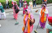Nagarkirtan, procession religieuse indienne, san giovanni valdarno — Photo
