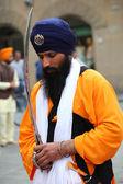 Nagarkirtan, procesión religiosa india, san giovanni valdarno — Foto de Stock