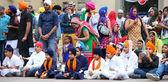 Nagarkirtan、インドの宗教的な行列、サン ・ ジョヴァンニ ・ ヴァルダルノ — ストック写真