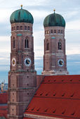 The Church of Our Lady (Frauenkirche) in Munich. — Stock Photo