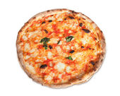 Pizza Margherita — Stock Photo