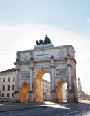 Siegestor (Victory Gate) in Munich, Bavaria, Germany — Stock Photo