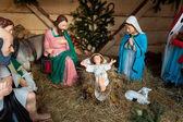 Nativity scene, Munich — Stock Photo
