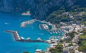 Marina Grande, Capri island, Italy — Stock Photo
