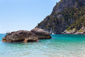 Marina Piccola auf der Insel Capri, Italien — Stockfoto
