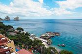 Marina Piccola on Capri Island, Italy — Stock Photo